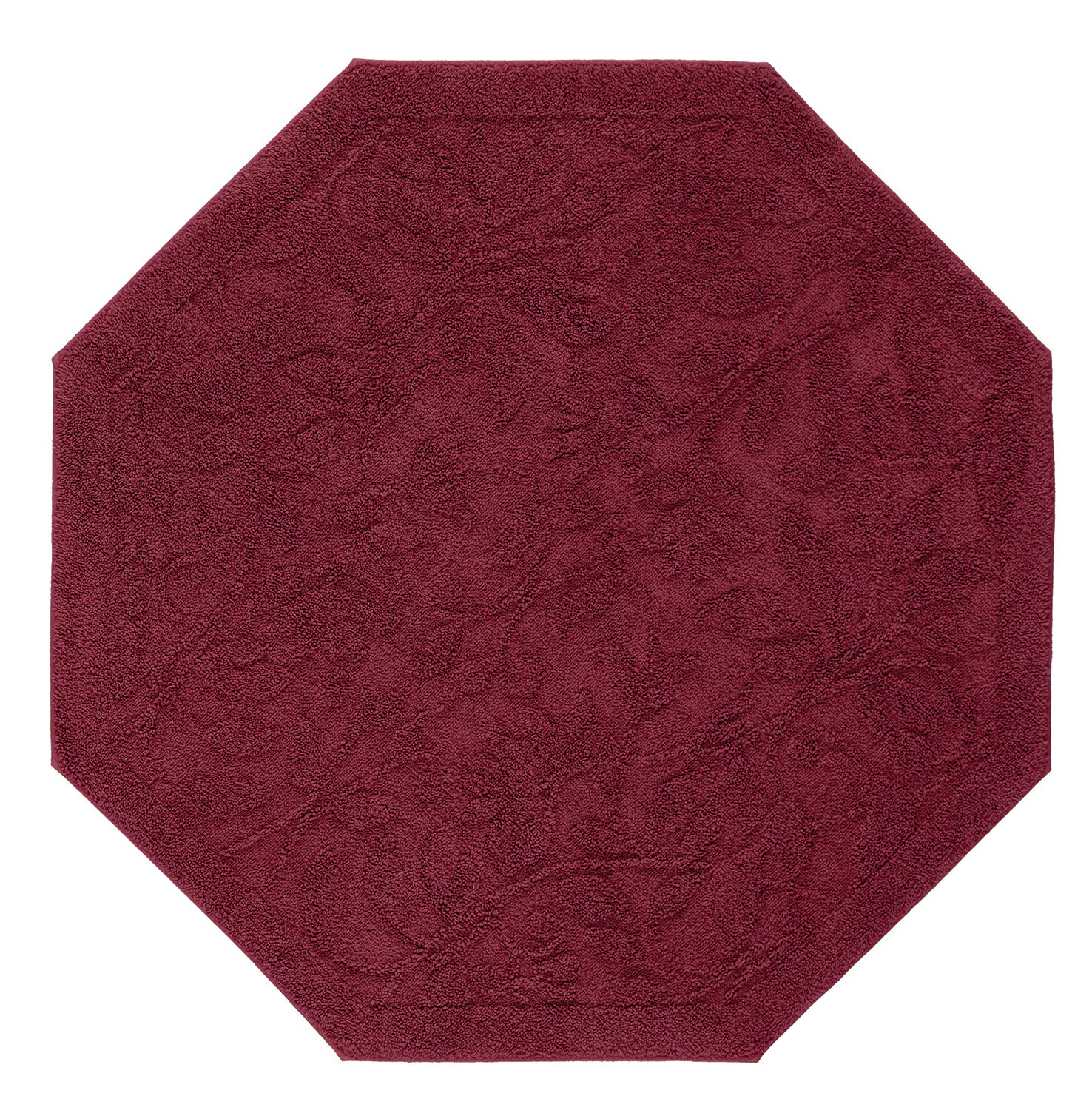 Mohawk Home Foliage Cabernet Octagon Accent Rug, 4'x4'