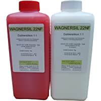 Silicona WAGNERSIL 22 NF Premiu, caucho, de duplicación