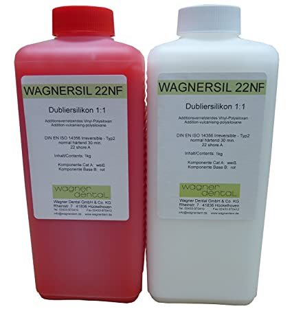 WAGNERSIL 22 NF Premium Silikon Kautschuk Dubliersilikon (weich) 2 kg