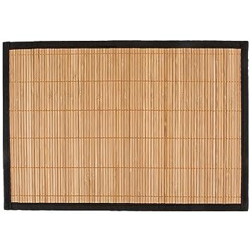 Levivo Platzset Aus Bambus 4er Set Tischsets Abwaschbar