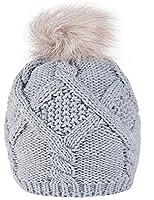 Chapeau d'hiver Winter Beanie Bonnet Laine hat Hats Zari Femme Ski Snowboard 4sold