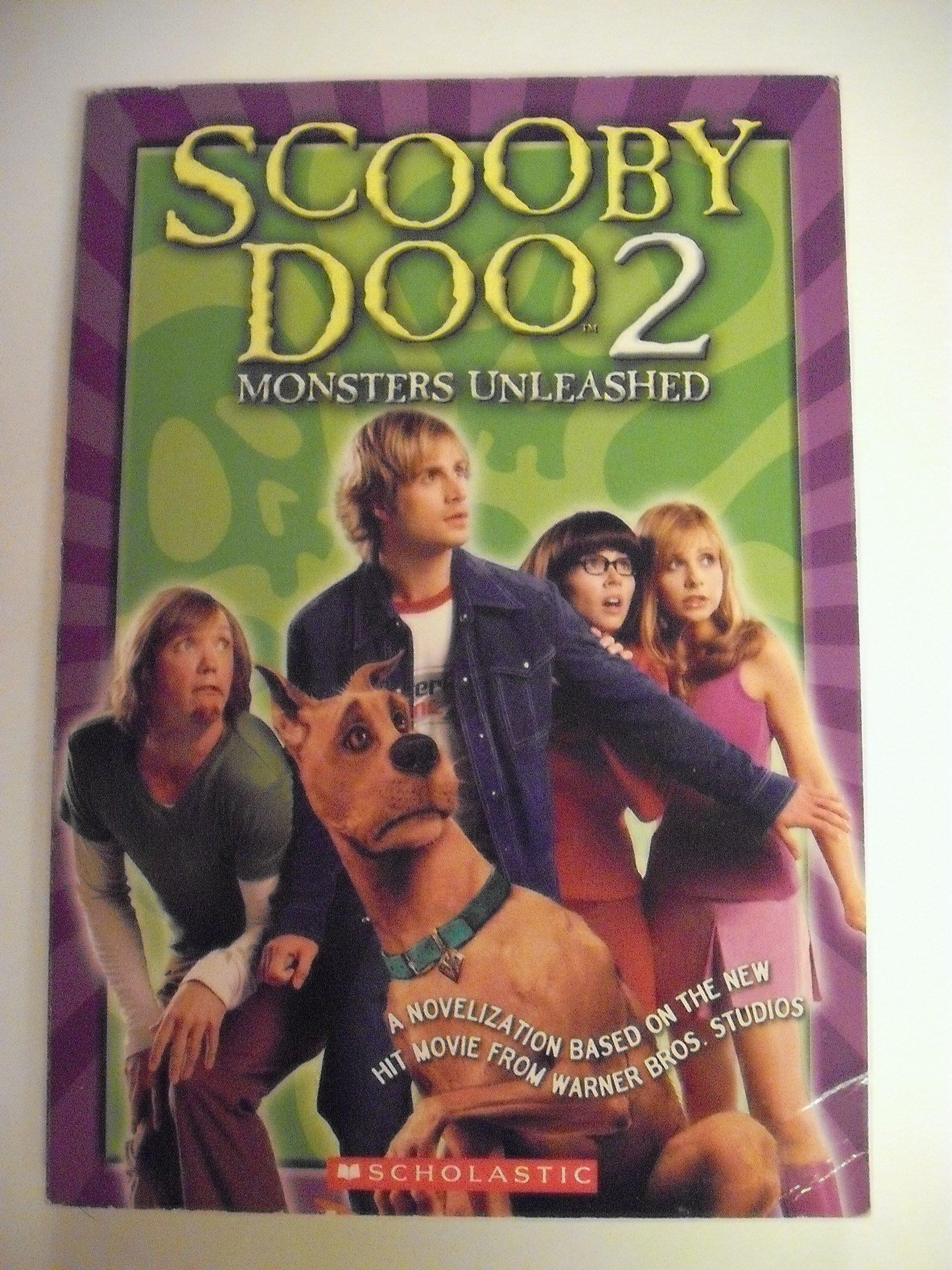 Scooby Doo 2 Monsters Unleashed Junior Novelization 9780439567558 Amazon Com Books