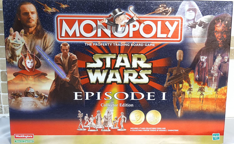 Star Wars Episode 1 Monopoly - Collectors Edition by Waddingtons: Amazon.es: Juguetes y juegos