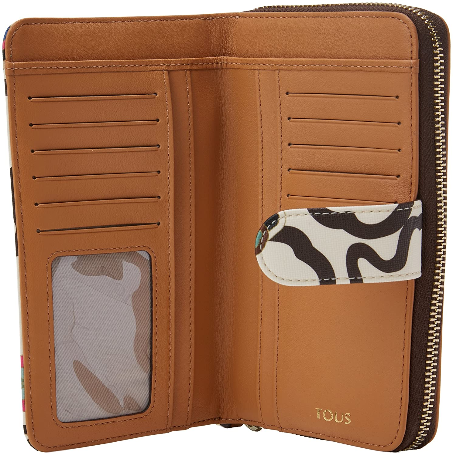 Amazon.com: Tous Kaos Mossaic Mediana, Womens Wallet ...