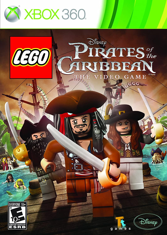 Amazon.com: LEGO Pirates of the Caribbean - Xbox 360: Disney Interactive:  Video Games