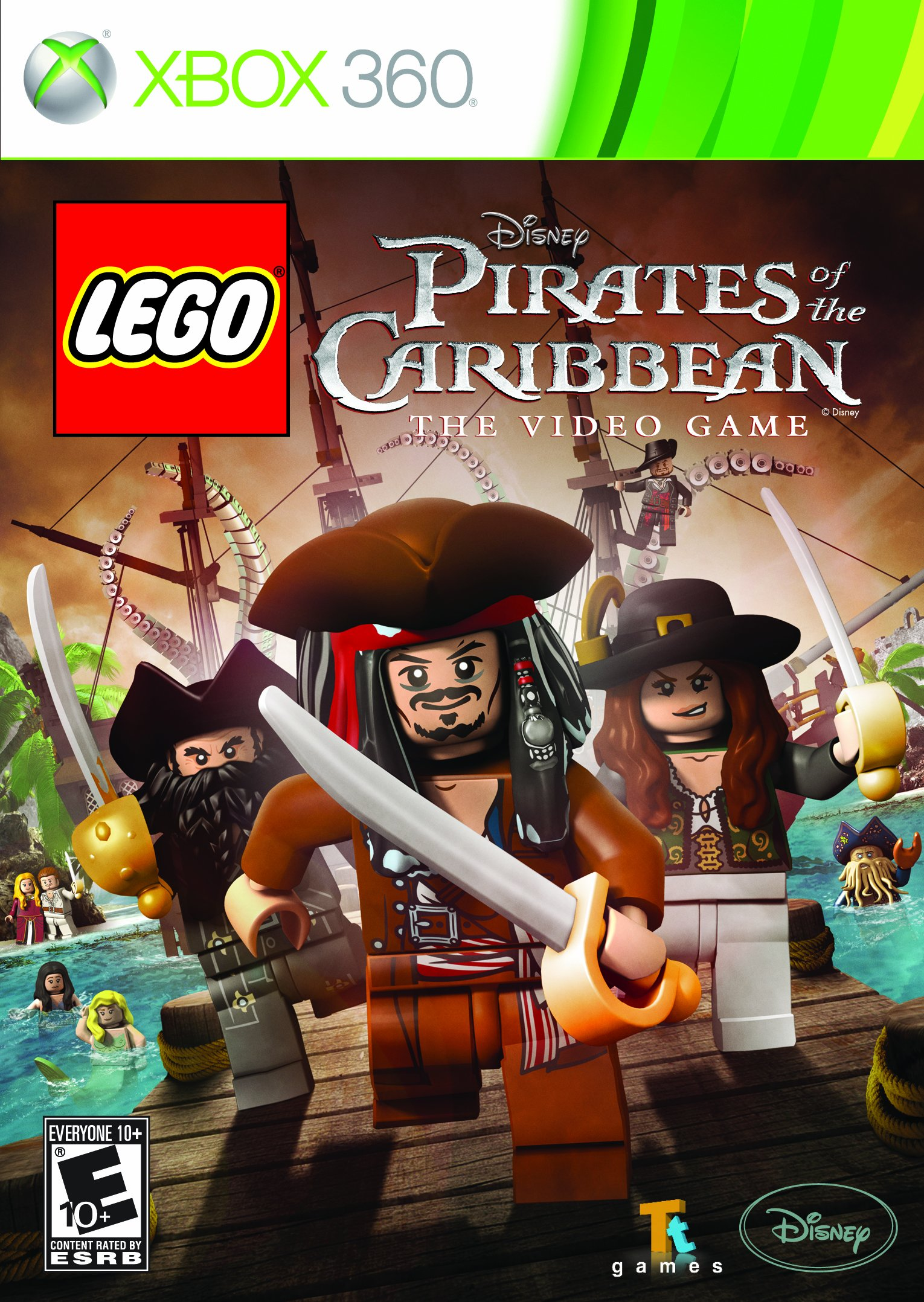 LEGO Pirates of the Caribbean - Xbox 360 by Disney Interactive Studios (Image #1)
