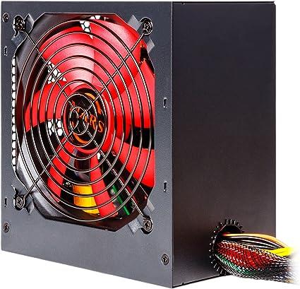 Mars Gaming MP500 - Fuente de alimentación Gaming (500 W, ATX ...