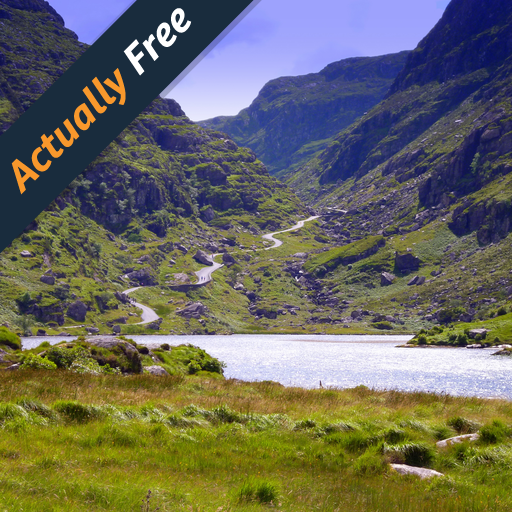 Ride Through The Gap Of Dunloe In South West Ireland