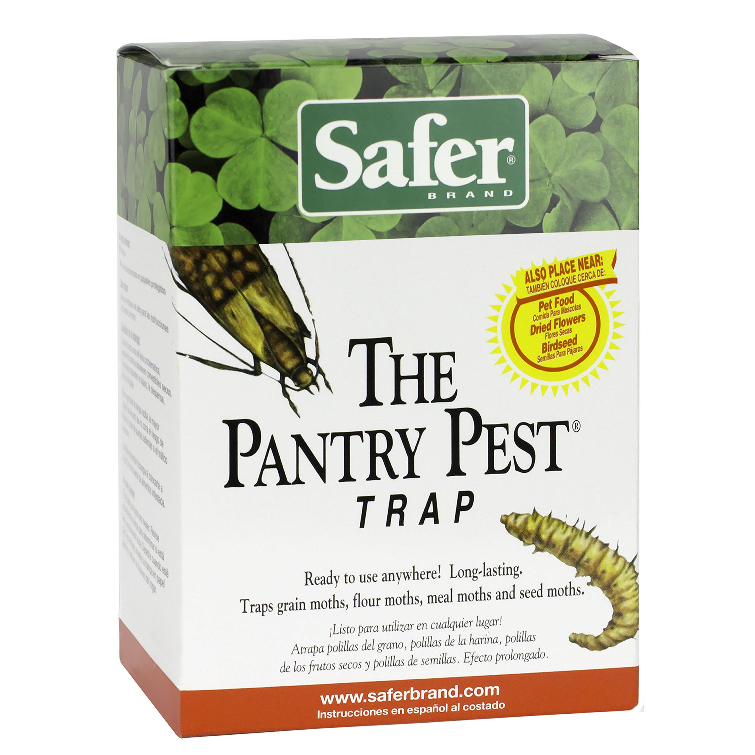 Safer Brand Pantry Pest 12 pack or 24 Traps total 05140