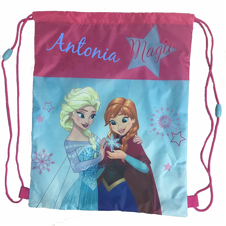 Disney Frozen Die Eiskönigin Anna /& Elsa Turnbeutel Schuhbeutel Tasche NEU