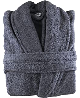 The House Of Emily 100% Cotton Terry Towelling Bathrobe Bath Robe + Matching  Belt - Extra… 39842dcc0