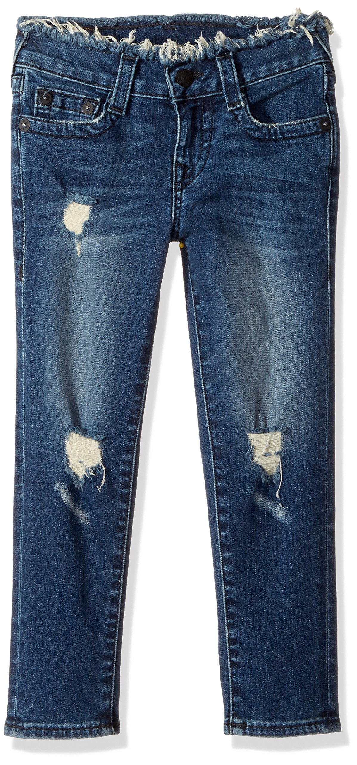 True Religion Toddler Girls' Casey Skinny Jean, Vintage Love, 3T by True Religion (Image #1)
