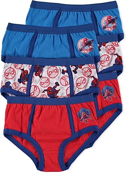 Jellifish Kids Transformers Boys Underwear Briefs 6-Pack