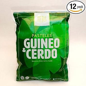 Productos Tere, Puerto Ricos unique PASTELES (Plantain or Cassava Dough Soft Pie stuffed with