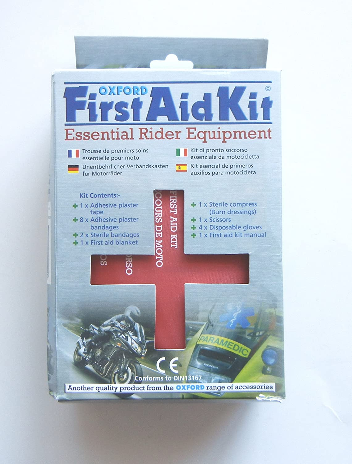 Oxford Essential Underseat First Aid Kit - Motorbike/Scooter/Cycle/Bike OF238