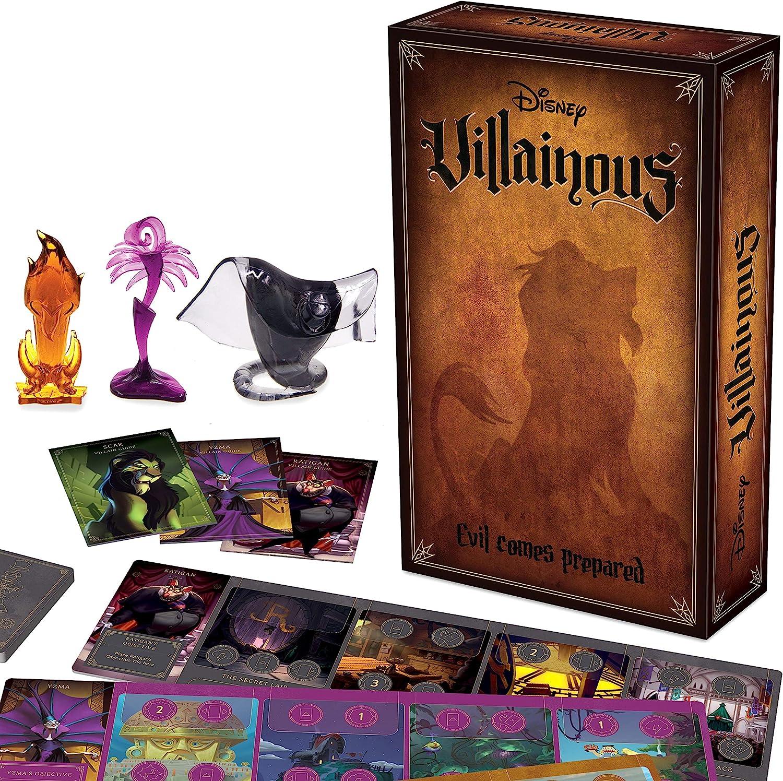 Ravensburger Disney Villainous - Evil Comes Prepared Strategy Board Game: Amazon.es: Juguetes y juegos