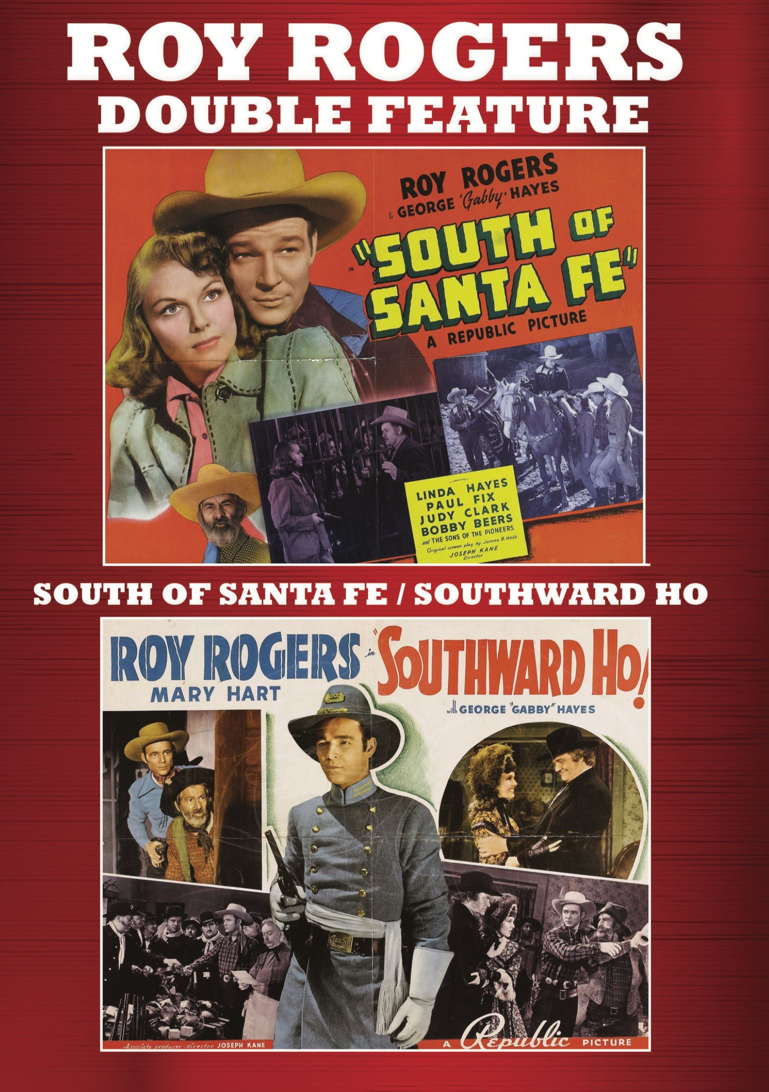 DVD : South Of Santa Fe/ Southward Ho (2 Pack, 2PC)
