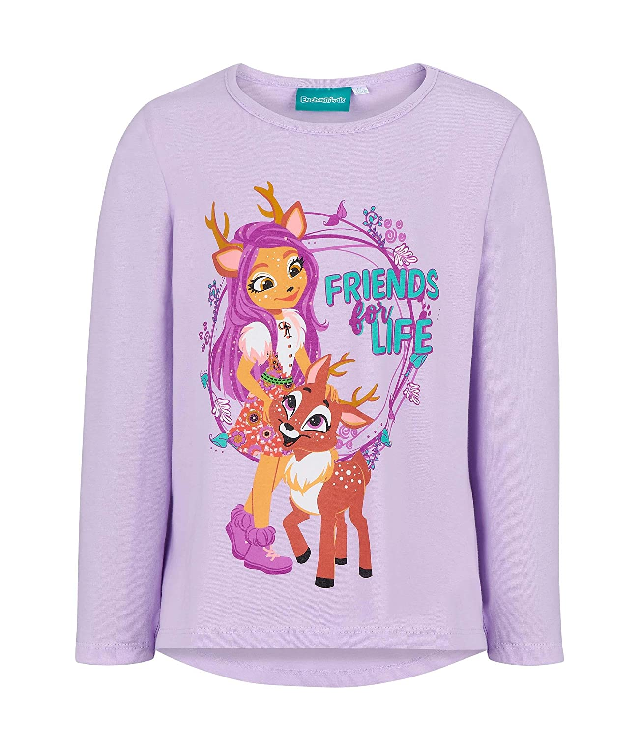Enchantimals Long Sleeve T-Shirt Purple LamaLoLi