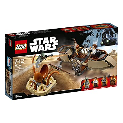 LEGO 75174 Star Wars - Desert Skiff Escape: Toys & Games