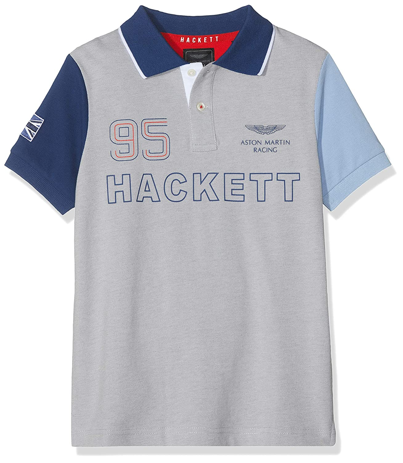 Hackett London Aston Martin Racing Multi SS Polo para Niños ...
