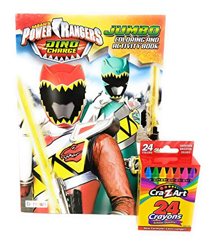 Buy Power Ranger Coloring Book Dino Charge Jumbo Coloring ...