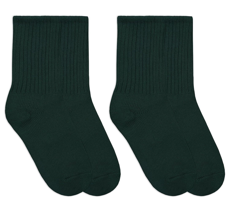 Jefferies Socks Boys School Uniform Nylon Knee High Dress Socks 2 Pair Pack