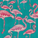 Arthouse, Flamingo Beach Fuschia Wallpaper, Modern Home Décor (300088)