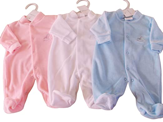 6d7eb8dc940 BNWT Exclusive to Kiddiewinks premature tiny Baby boys girls unisex sleep  suit (5-8lbs