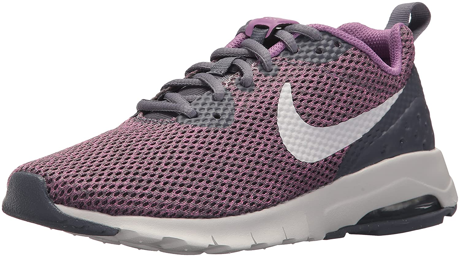 NIKE Women's Air Max Motion Lw Running Shoe B071KZCN8H 8 B(M) US|Light Carbon/Vast Grey/Dark Orchid