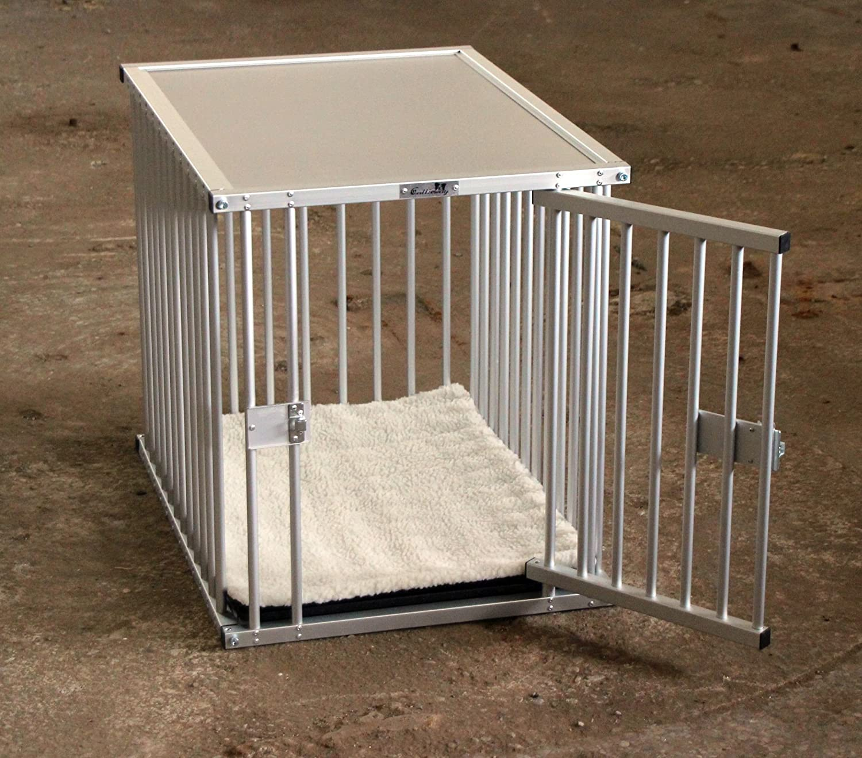 Premium cage de transport en aluminium, taille XL, pour bureau, à la maison  ou en vadrouille,