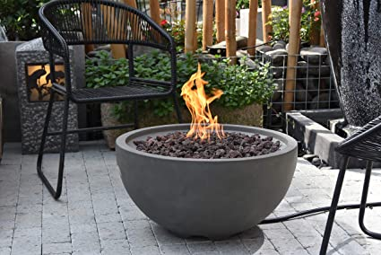 Fantastic Amazon Com Modeno Nantucket Concrete Natural Gas Fire Bowl Download Free Architecture Designs Pushbritishbridgeorg