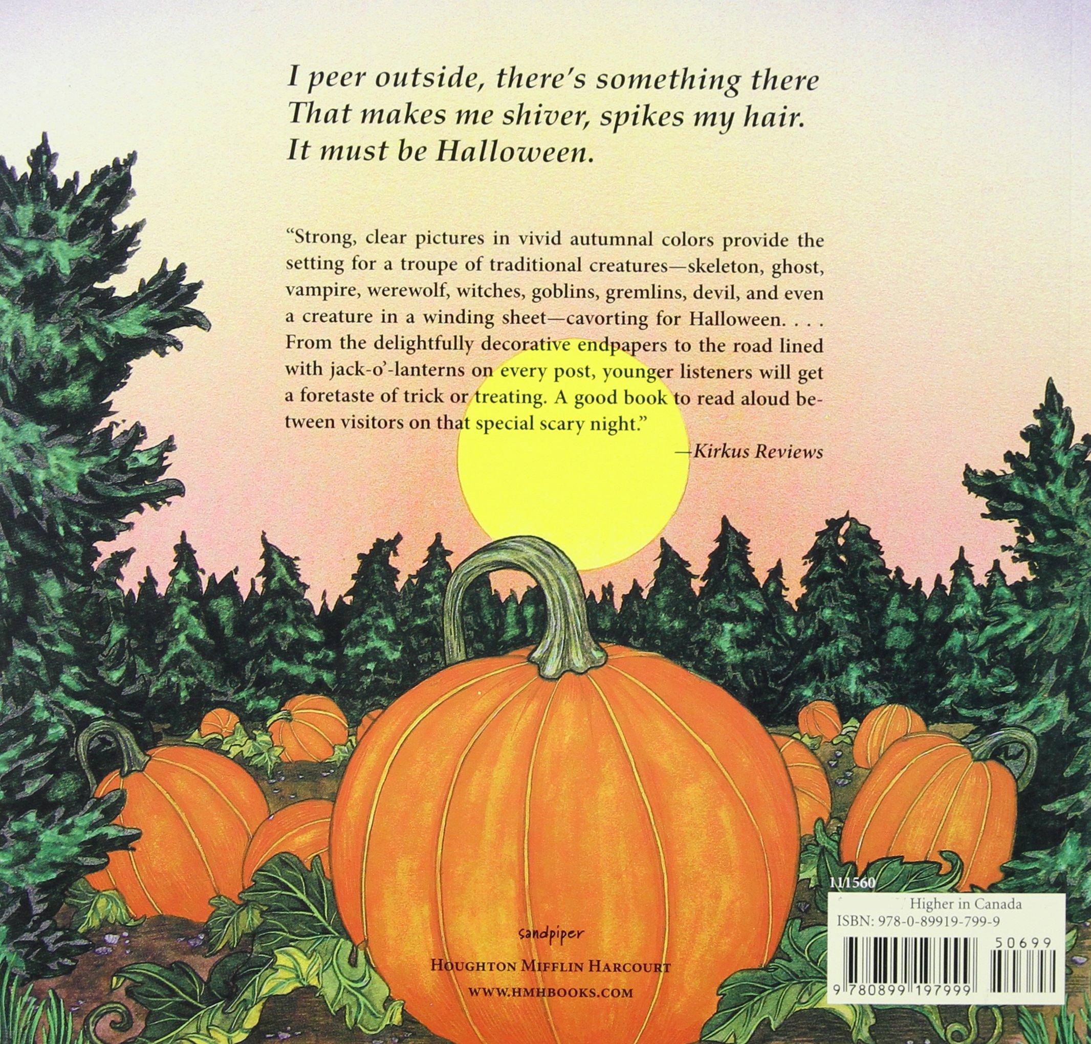 Scary, Scary Halloween: Eve Bunting, Jan Brett: 9780899197999: Amazon:  Books
