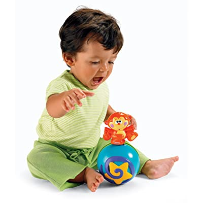 Fisher-Price Go Baby Go! Crawl-Along Musical Ball: Toys & Games
