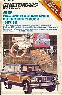 Jeep wagoneerj series 7291 haynes repair manuals haynes chiltons repair manual jeep wagoneercommando cherokeetruck 1957 86 fandeluxe Gallery