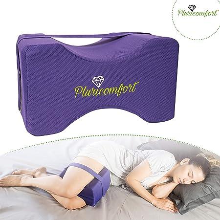 Dormire Con Il Cuscino Tra Le Gambe.Pluricomfort Cuscino Ortopedico Per Ginocchia E Gambe Per Dormire