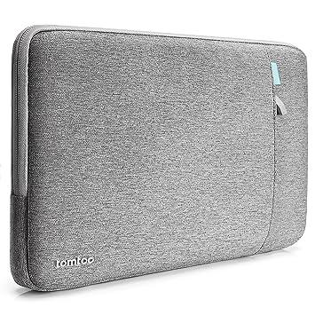 43ff8ab5d7 tomtoc 11,6 Pouces Housse Ordinateur Portable Compatible avec 12 Pouces  MacBook Sac Pochette pour