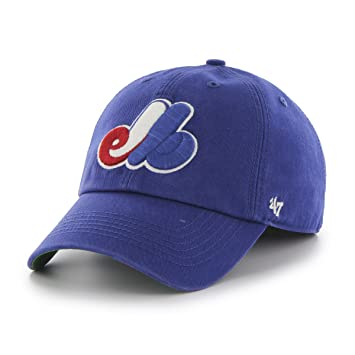 0936e9275cb27 47 Brand MLB Montreal Expos Franchise Fitted Hat (Royal