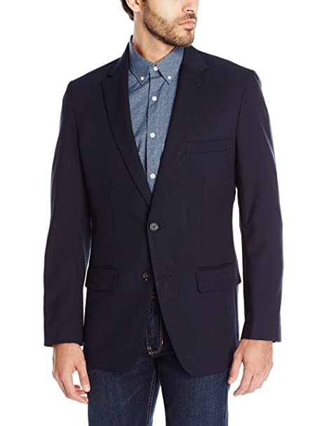 Amazon.com: Haggar Clothing - Blazer para hombre: Clothing