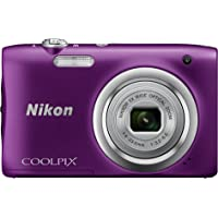Nikon COOLPIX A100 Digital Camera Purple Australian Warranty, Purple (VNA973AA)