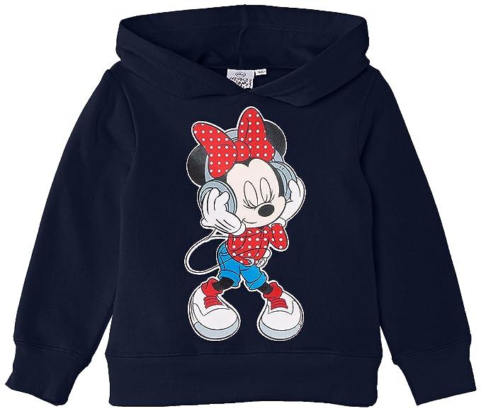 Disney Minnie Mouse NH1346, Sudadera para Niñas, Blau (Dress Blue) 4 años