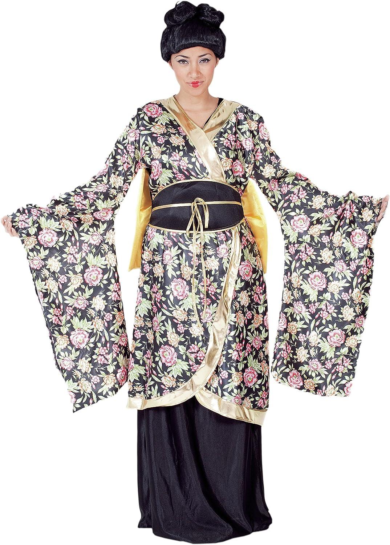 Fyasa 701990-t04 Geisha disfraz, tamaño grande: Amazon.es ...