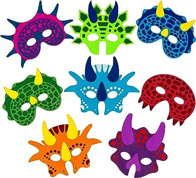 Amazon.com: Máscaras de dinosaurio Little Seahorse para ...