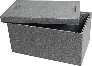Caja térmica de Climapor. Caja, gris, grande. Volumen: 35 l ...