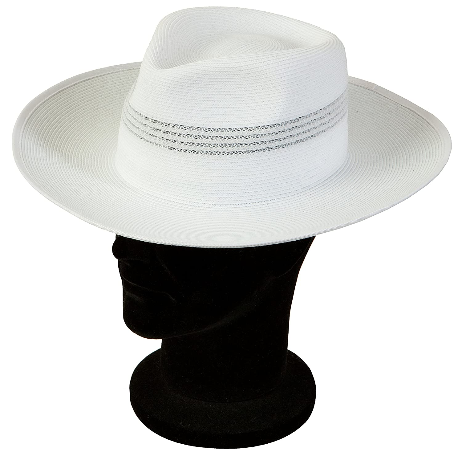 Acclaim Kalgoorlie International Cricket Umpire Summer Hat With The Stay Put Headband White