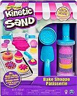 Kinetic Sand, Bake Shoppe Playset with 1lb of Kinetic Sand and