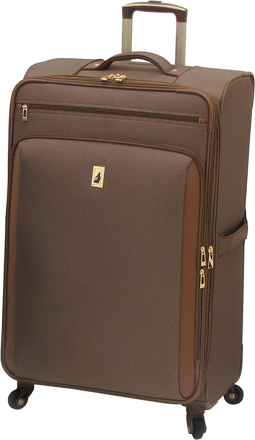 London Fog Kensington 29 Inch Expandable Spinner Bronze