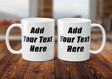 Amazon Com Diy Personalized Coffee Mug Add Personalized