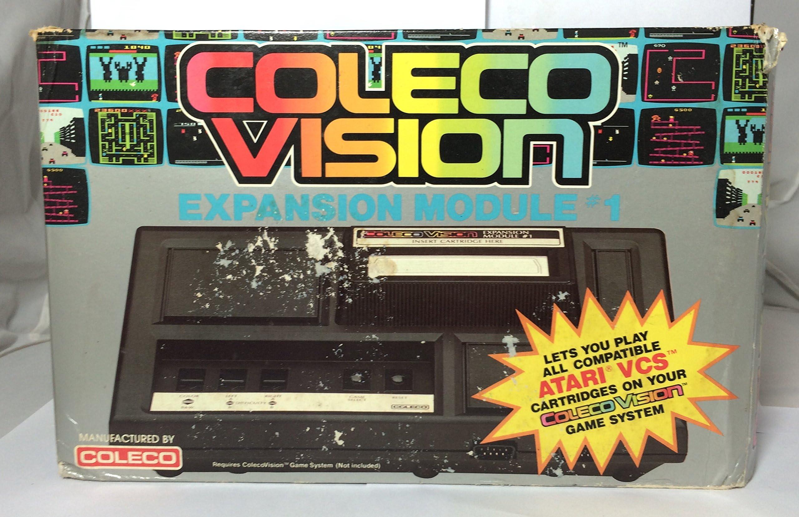 Amazon com: ColecoVision Expansion Module #1 to Play Atari