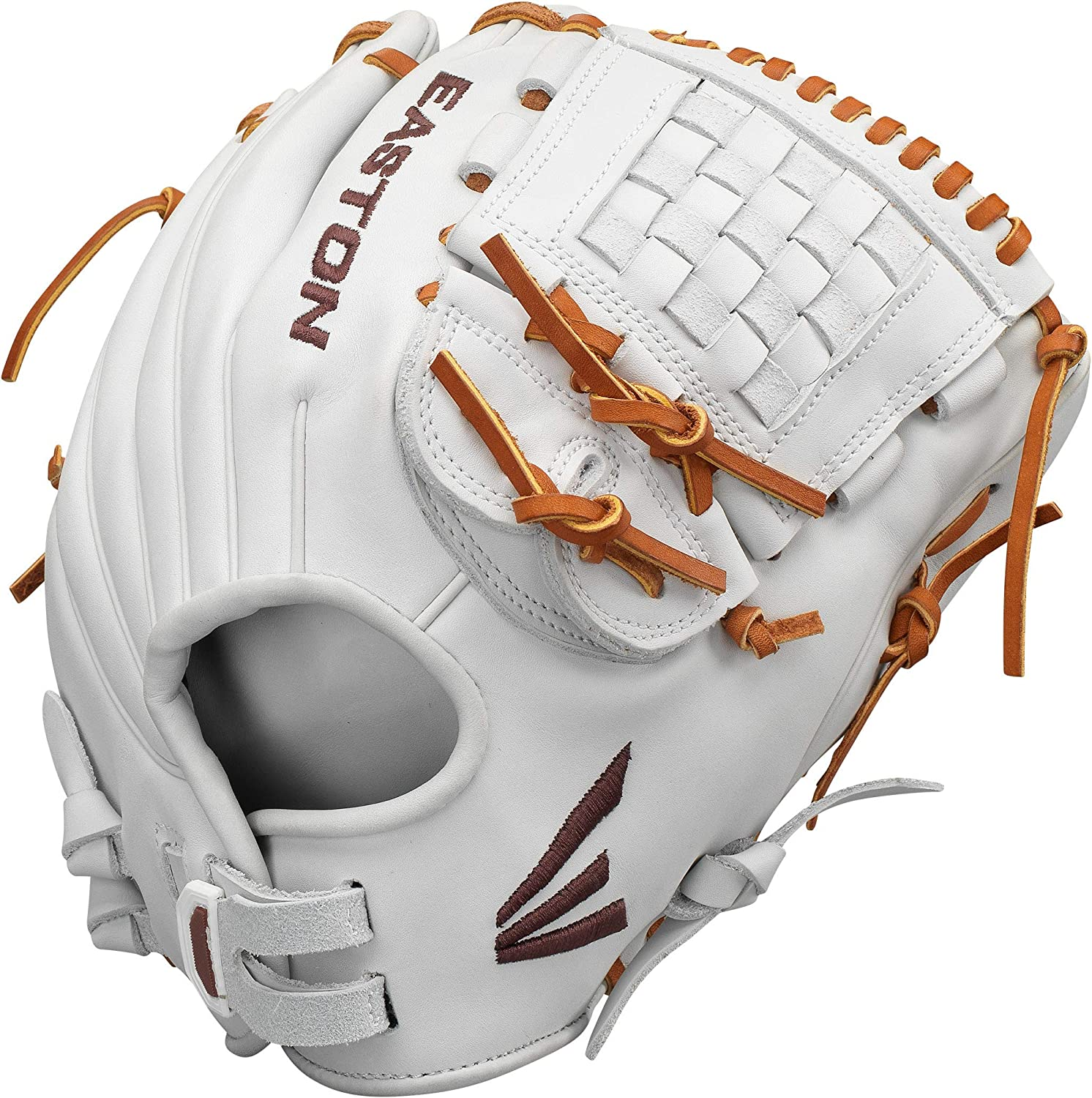 Female Athlete Design Quantum Closer System for Customized Fit And Feel Full Leather Lining EASTON PROFESSIONAL Fastpitch Softball Glove Series Premium Reserve USA Steer Hide Leather