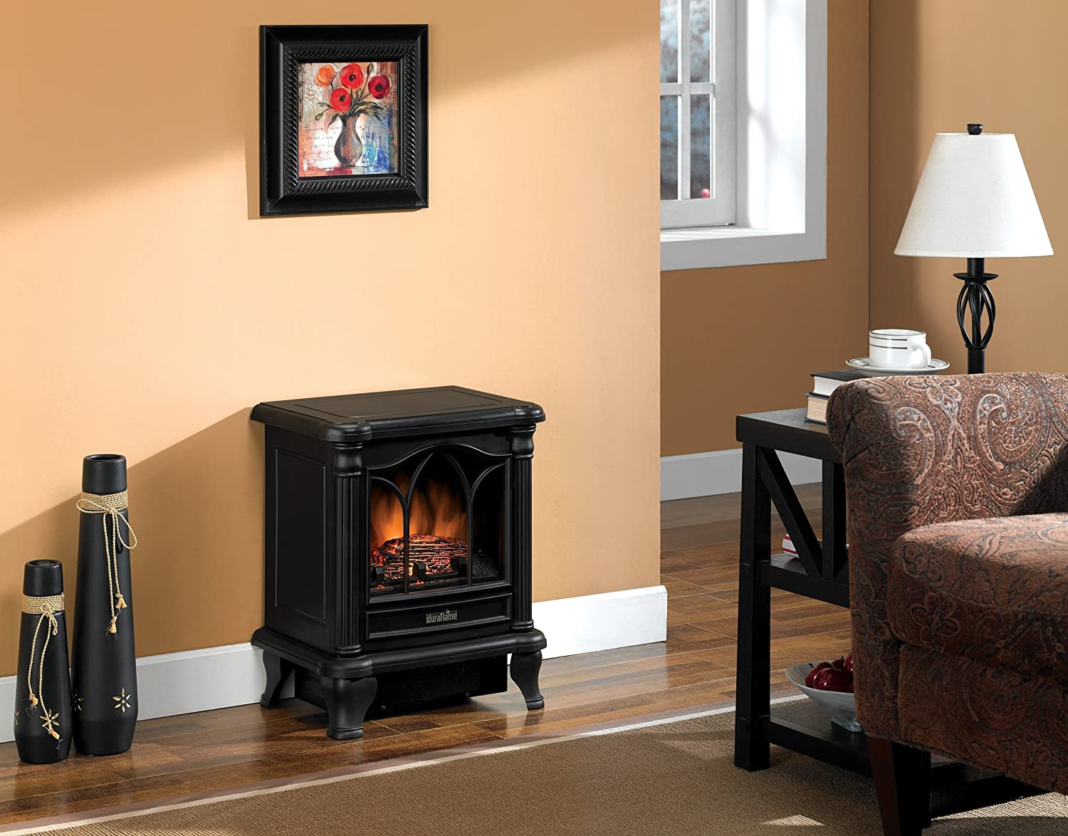 Amazon.com: Duraflame DFS-450-2 Carleton Electric Stove with ...